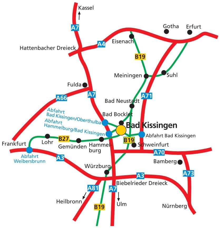 Anfahrtsplan zu Hemera Klinik