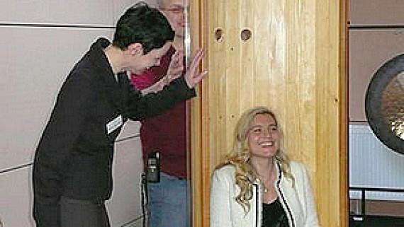 Staatsekretärin Huml