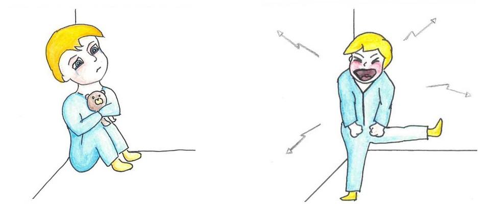 Die 3. Form der Schemaaktivierung bei der Schematherapie bei Kindern.